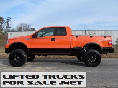 2004 ford f 150 fx4 crew cab lifted truck lifted ford trucks for sale pinterest trucks. Black Bedroom Furniture Sets. Home Design Ideas