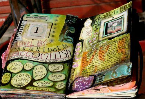 #Papercraft #artjournal ...dark shading