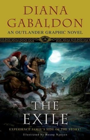 "Diana Gabaldon's ""The Exile"" (2010) retells the original Outlander novel from Jamie Fraser's point of view, revealing events never seen in the original story and giving readers a new insight into the Jamie-Claire relationship. Jamie's surreptitious arrival in Scotland at the beginning of the tale, his feelings about Claire, and much more - up to the point where Claire faces trial for witchcraft and must choose whether to return to her own century - in brilliant four-colour art."