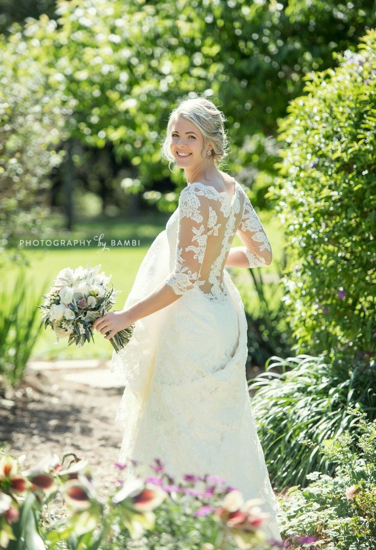 WLC real bride Stephanie wears Jo by Augusta Jones. Image: Photography by Bambi
