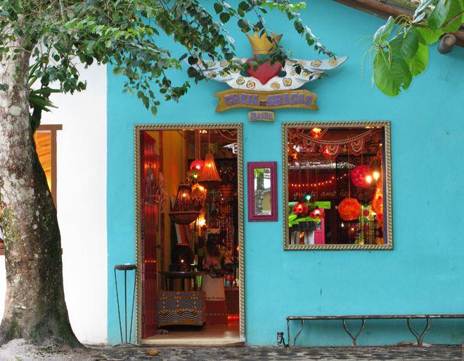 Lojas do Quadrado de Trancoso. Bahia, Brasil.