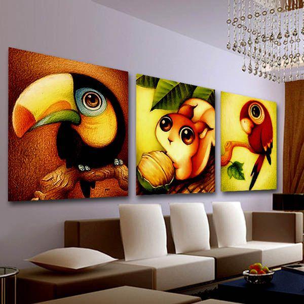 20x25cm 5D DIY Animal Series Diamond Painting Resin Full Rhinestone Home Decoration Cross-stitch Kit