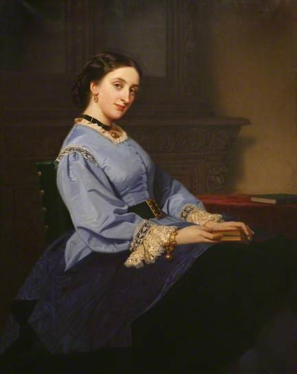 """Katherine Elizabeth, 4th Countess of Mount Edgcumbe"", ca. 1870; Mount Edgcumbe House Plymm.055"