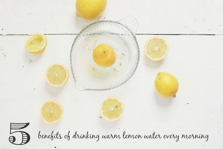 5 Benefits of Drinking Warm Lemon Water Every Morning | Radiantly You