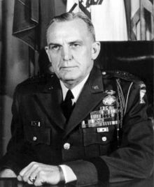 The real life Lieutenant General Robert F Sink. He was portrayed by Dale Dye in Band of Brothers. Died in 1965.