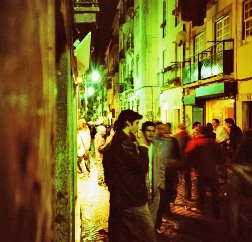 Bairro Alto Lisboa Portugal