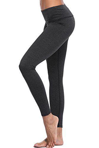 37ee9894d6f8e CharmLeaks Women's High Waist Yoga Pants Compression Sports Legging Running  Tights