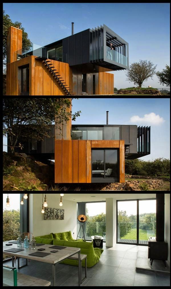 Modern style architecture - The Contenna House