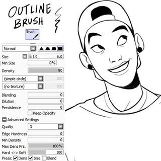 JOJOmatsu @johannathemad My brush settings...Instagram photo | Websta (Webstagram)
