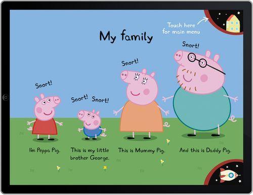 Peppa Pig Character Names Peppa Pig Colouring Family