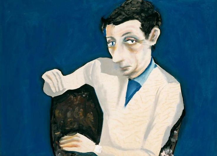 Charles BLACKMAN, Georges Mora, 1956 enamel paint on paper on composition board,  97.1 x 130.4 cm Collection of the National Gallery of Victoria, Melbourne Image courtesy of the artist