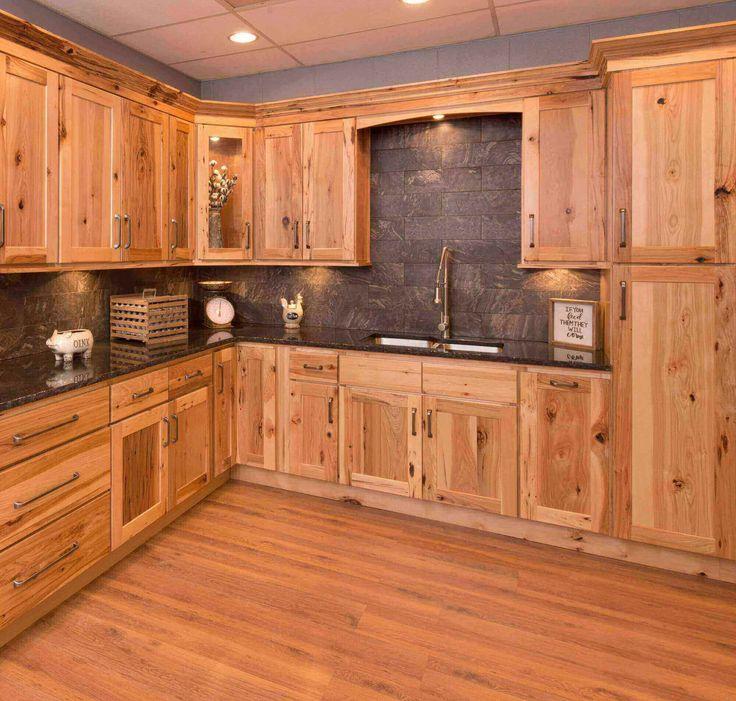 Hickory Shaker Hickory Kitchen Hickory Kitchen Cabinets