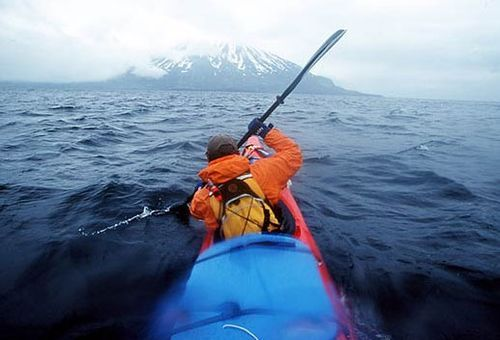 I would love to kayak here: Aleutians