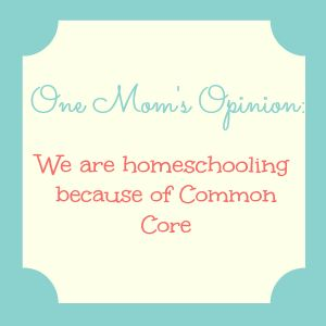 """""""{One Mom's Opinion} Why We're Homeschooling This Year"""" By Amy Dutsch Mother of two, former teacher, small business owner and founder of Parents and Educators Against Common Core Standards in Louisiana."""