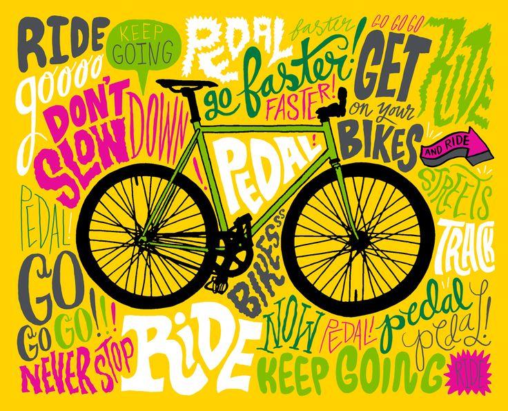 Graffiti Bicycle Art.