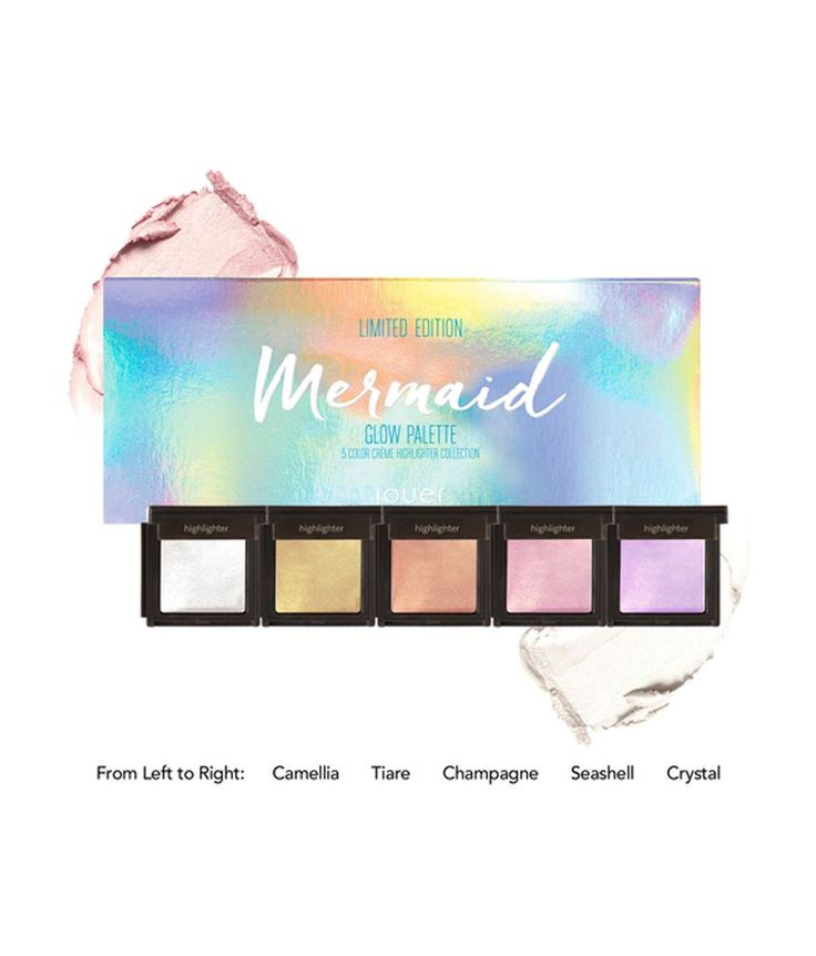 Glow Palette (Mermaid Ltd Edition) by Jouer Cosmetics