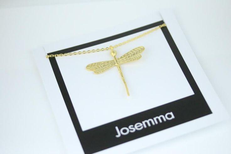Josemma Libellen Kette Gold Bohemian