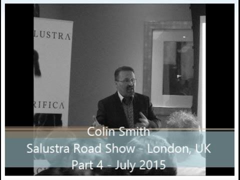 Part 1 - Colin Smith - Salustra Road Show - London, UK  July 2015