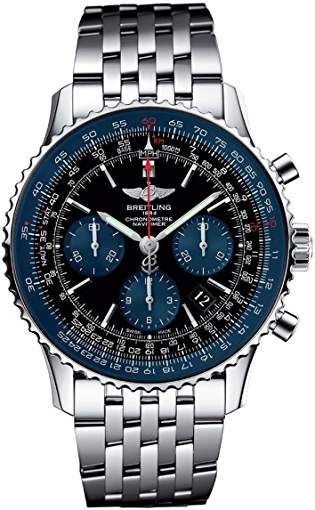 Mens Breitling Navitimer Limited Edition Watch AB012116 BE09-SS ... 5132f83eb4e
