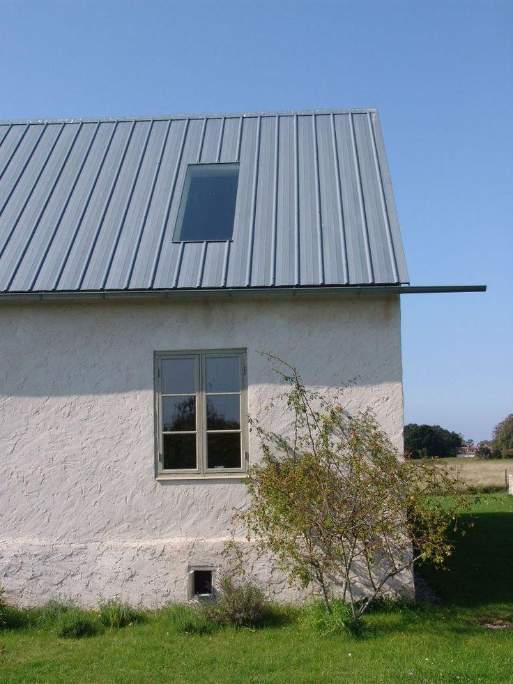 Stort takfönster som är helt integrerat i pannplåten