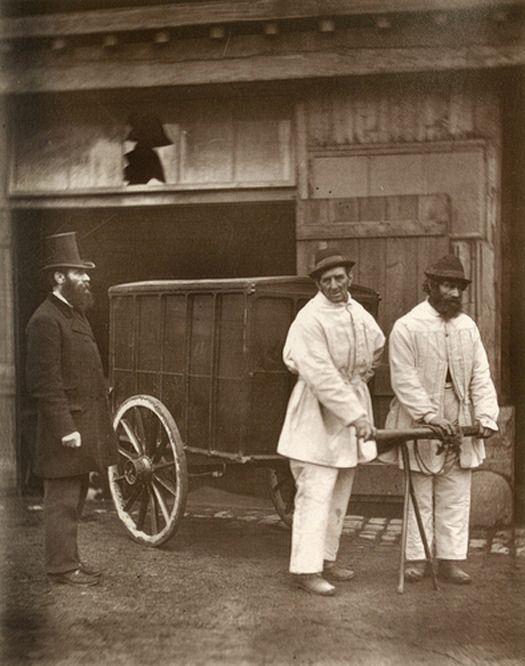 Public Disinfectors [Street Life in London] 1877