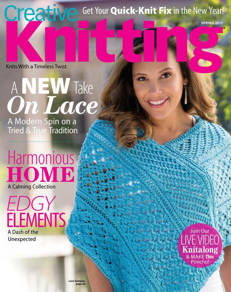 Creative Knitting Spring 2017 - 轻描淡写 - 轻描淡写
