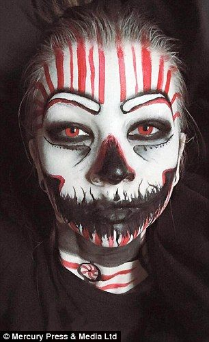 quick haunted house makeup - Google Search