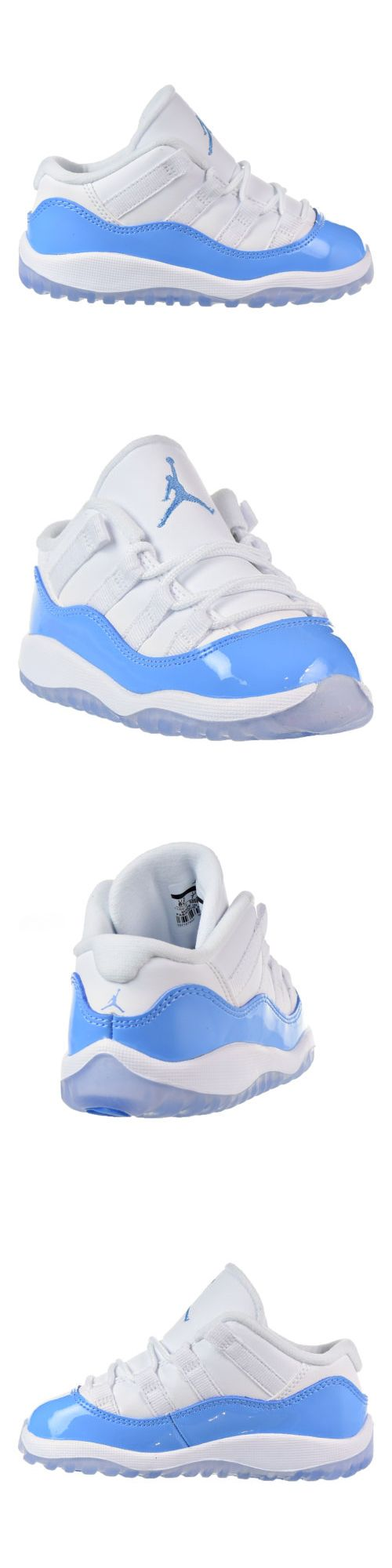 Infant Shoes: Jordan 11 Retro Low Bt Infants Toddlers Shoes White Blue-Black 505836-106 -> BUY IT NOW ONLY: $79.95 on eBay!
