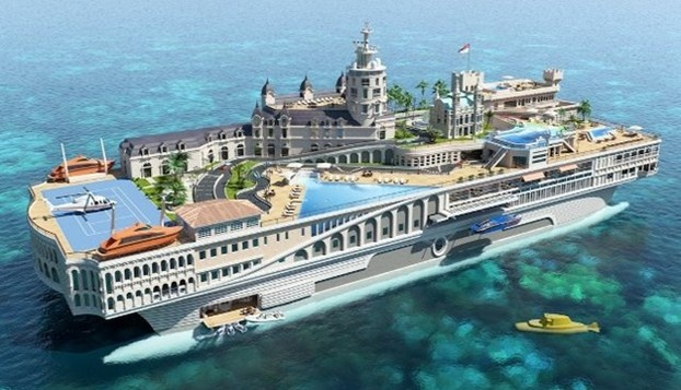 Streets of Monaco, lo yacht più costoso del mondo. http://www.nuvolari.tv/news--/yacht-piu-costoso-del-mondo