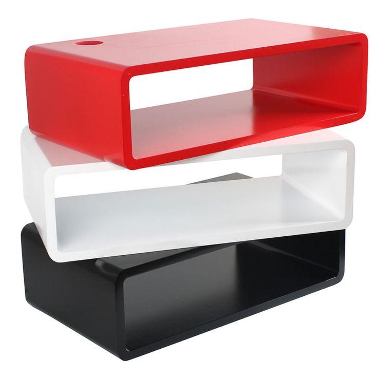 50*28*15 CM Floating MFD Wall Mount Shelf Cube Skybox TV DVD Unit Shelves