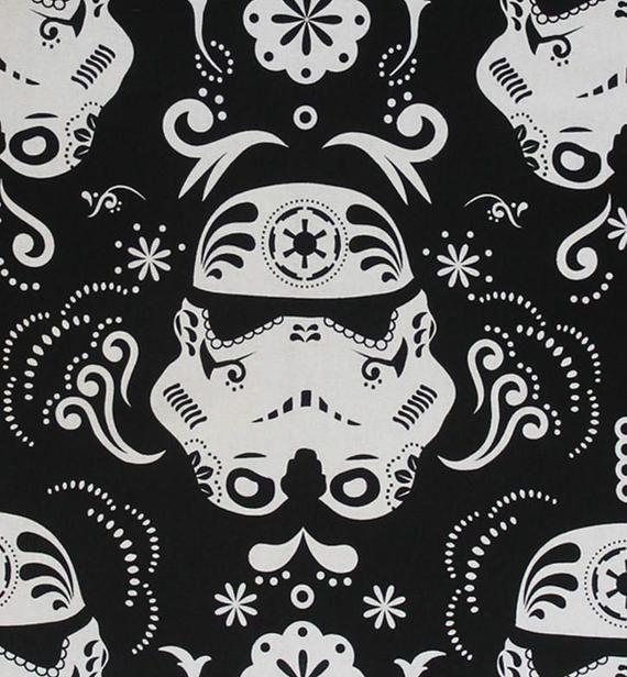 Star Trooper Kitchen Apron Etsy In 2021 Star Wars Sugar Skull Star Wars Fabric Star Wars Wallpaper