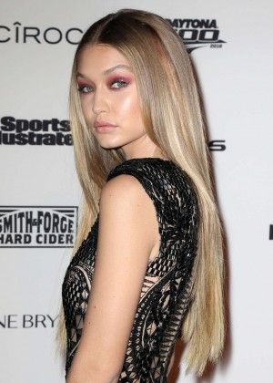 Gigi Hadid: Sports Illustrated Celebrates Swimsuit 2016 VIP Red Carpet Event -06 - Posted on February 17, 2016