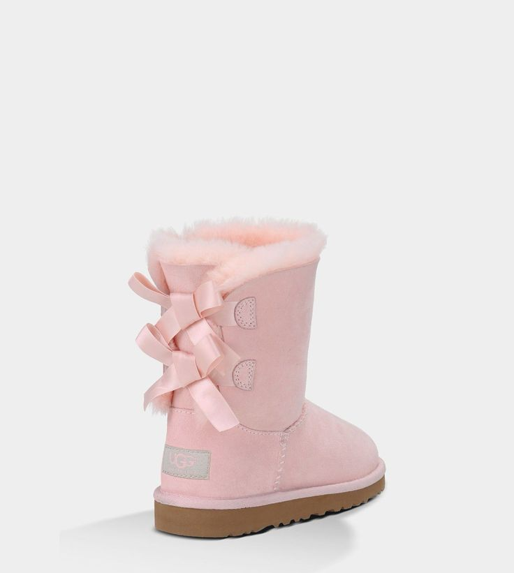 UGG® Bailey Bow | Free shipping at UGGAustralia.com | I want these light pink bailey bows sooo bad ONG
