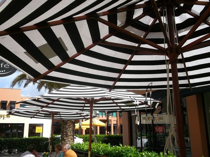 The umbrellas are back up at Morrison Street Cafe - it must be summer!