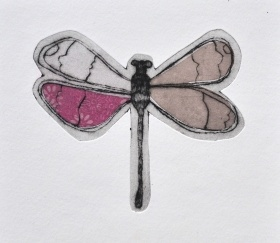 Libellule, Jeanne Picq, galerie L'oeil ouvert