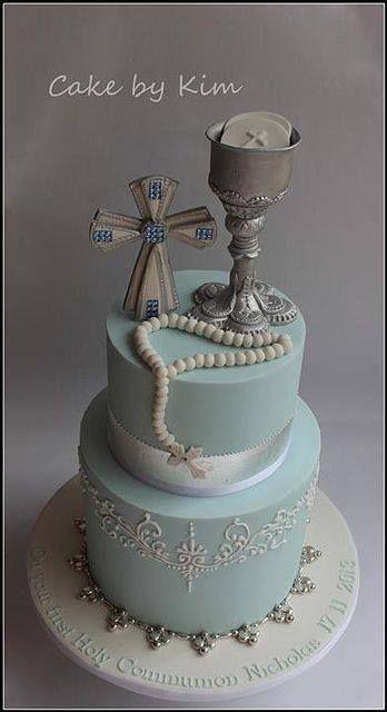 pastel para primera comunión9