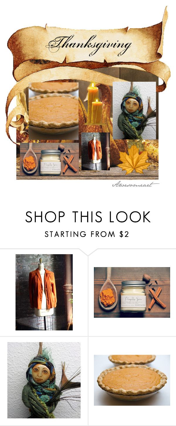 """""""Happy Thanksgiving Canada"""" by laughingdog ❤ liked on Polyvore featuring interior, interiors, interior design, home, home decor, interior decorating, etsy, teamreloved, artflashmob and thelastword"""
