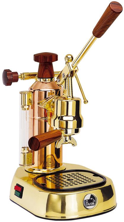 La Pavoni Espresso Machine - So WANT this machine!  Beautiful!