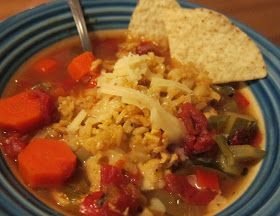 The Perfect Recipe Project: Tortilla Soup and Mexican Brown Rice