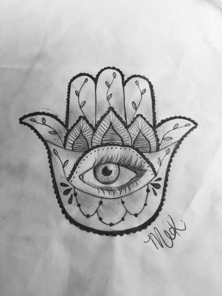 MEK art & design™   Hamsa hand design 2