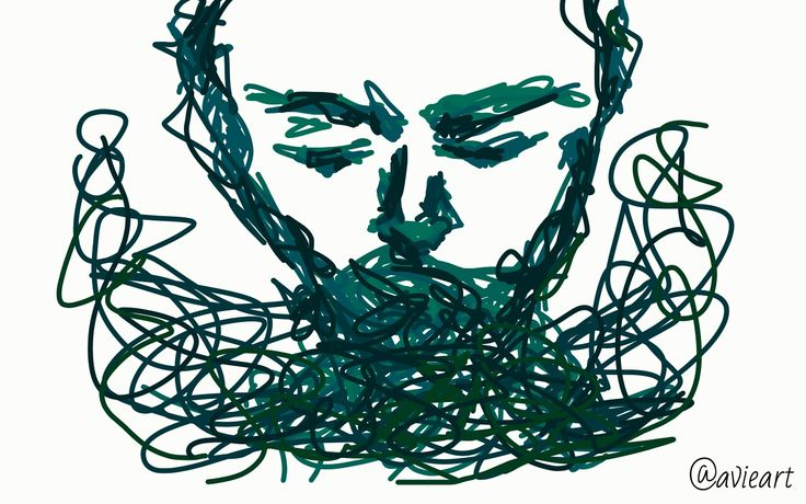 When your emotions do the thing Tried my hand at some digital feels . . . #art #artist #digital #sketch #doodle #drawing #teal #follow #emotive #emotion #expressive #blue #green #sad #mental #health #scribble