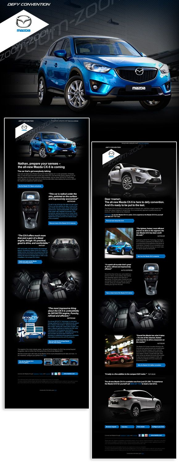 Building hype, awareness and consideration for the all-new Mazda CX-5.