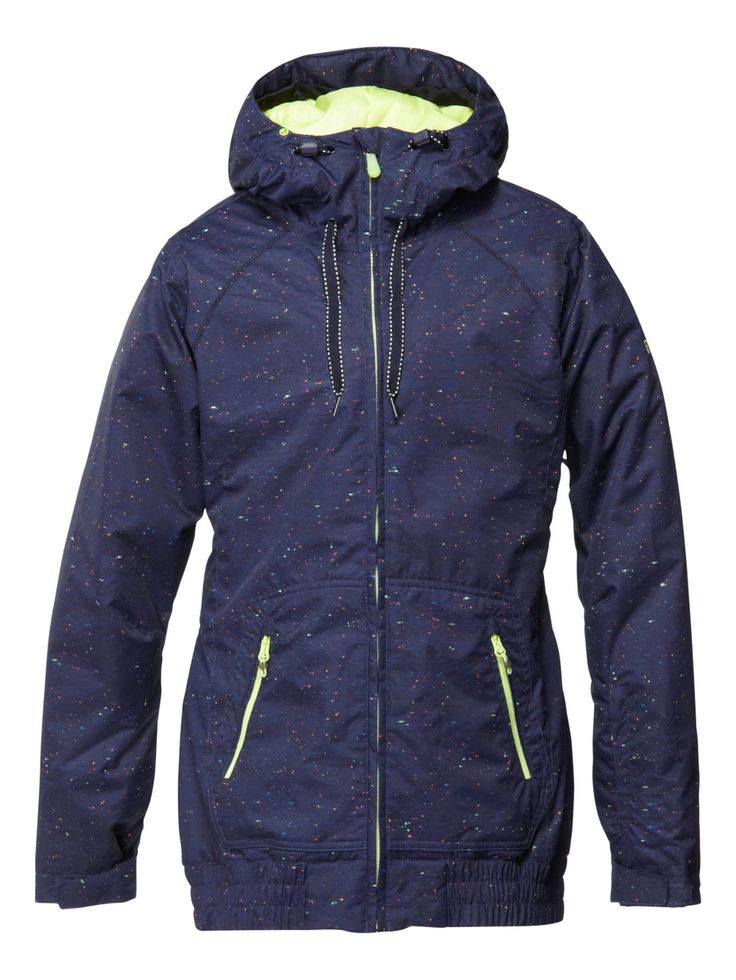 ROXY SNOW bunda VALLEY HOODIE 10K | QUIKSILVER