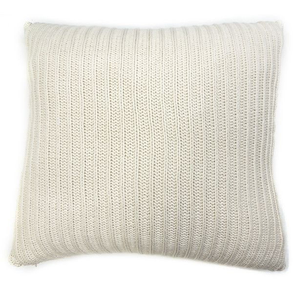 Cottage Home Samson Natural Knitted Euro Sham ($53) ❤ liked on Polyvore featuring home, bed & bath, bedding, bed accessories, beige, square pillow shams, european square pillow shams, euro pillow shams, euro sham and ivory euro sham