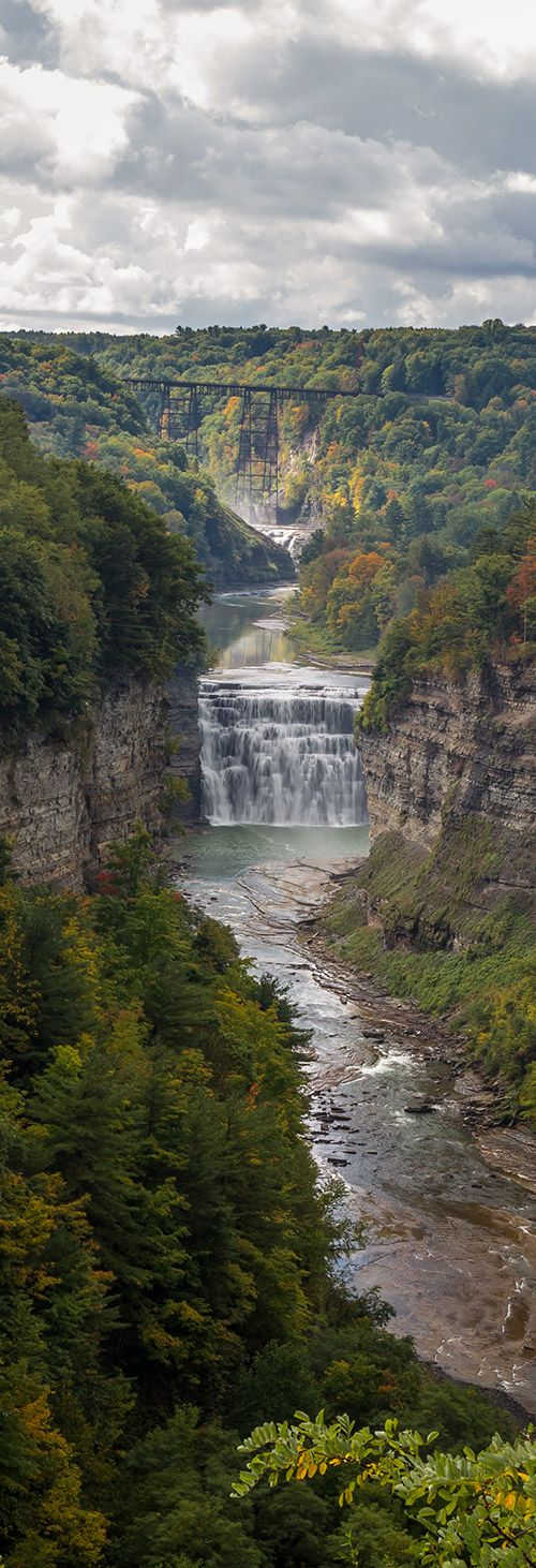 View from Inspiration Point, Letchworth State Park