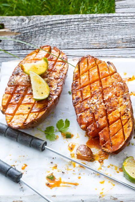 Batata-doce grelhada   – Grill-Rezepte