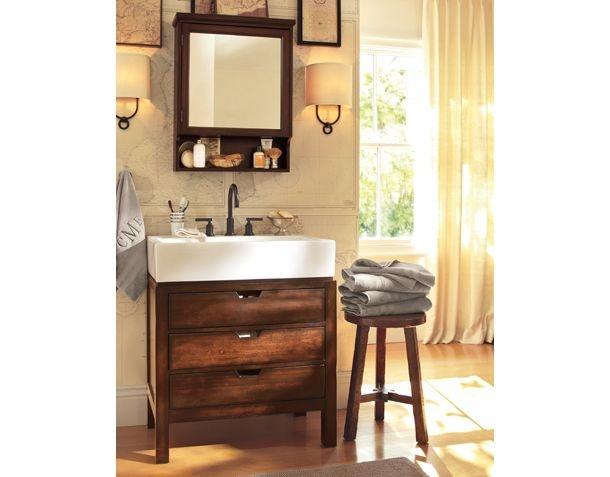 61 curated farmhouse bathroom ideas by dondraw farmhouse for Pottery barn bathroom ideas