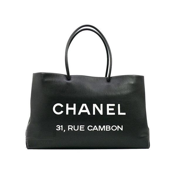 CHANEL BAG REVIEW:THE BLACK CALFSKIN 31 RUE CAMBON TOTE BAG | CHANEL... ❤ liked on Polyvore featuring bags, handbags, tote bags, chanel, borse, purses, chanel handbags, handbags totes, chanel purse and purse tote bag