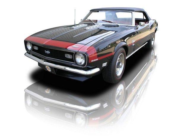 1968 Chevrolet Camaro convertible SS / Super Sport 396 cid big block