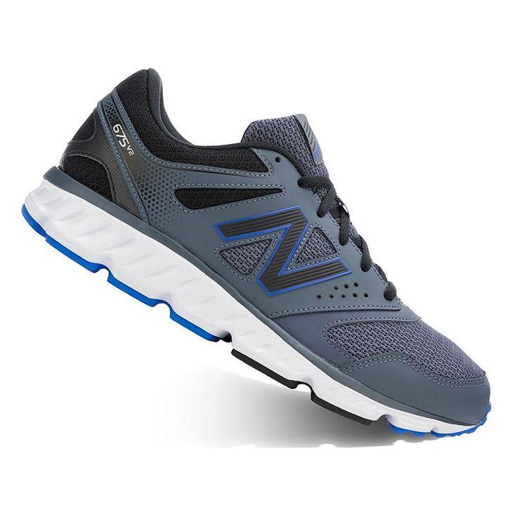 New Balance 675 v2 Neutral Running Shoes, Men's, Size: 11.5 Ew 4E, Med Grey